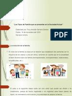 Los Tipos de Familia Que Se Presentan