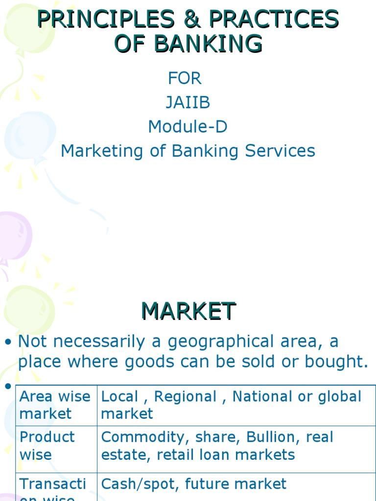 Workbooks jaiib workbook : JAIIB Module -D