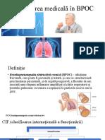 reabilitarea medicala BPOC