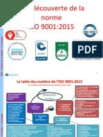 A la découverte de la norme ISO 9001 2015
