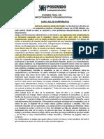 3º EXAMENPARCIAL DECOMPORTAMIENTO ORGANIZACIONAL(SALUD CORPORATIVA)