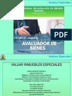 Taller Avalúos Especiales 2020 Virtual