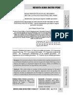 Las Medidas Preventivas en El Régimen Disciplinario de La Policía Nacional Del Perú - Autor José María Pacori Cari