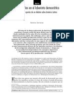 Carreras, Sandra (1999) Quince Años en El Laberinto Democrático Itinerario y Aporías de Un Debate Sobre América Latina