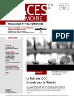 TRACES DE MÉMOIRE 16 (2015)