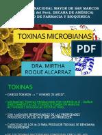 TOXINAS MICROBIANAS 2010