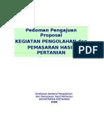 pedomanproposal2010