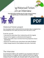 writing historical fiction - presentation