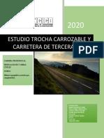 Estudio Trocha Carrozable y Carretera de Tercera Clase