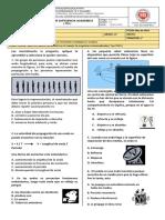 Evaluación de Fisica Grado 11°  Online   No. 2