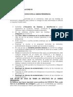 Protocolo Bioseguridad COVID unidades residensiales