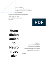 Acondicionamiento Neuromuscular