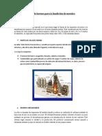 Tipos de hornos para la fundición de metales