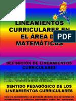Lineamientos Math