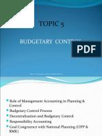 PSA522 5.BUDGETARY CONTROL MAC2015