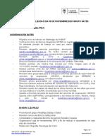 ACTIVIDADES REALIZADAS DIA 09 DE NOVIEMBRE 2020 GRUPO GATES