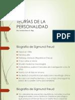 Teorías de la Personalidad Sigmund Freud