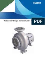 Pompe centrifuge monocellulaire AHLSTAR