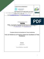 TEXTO DE REFERÊNCIA DO PROGRAMA SETORIAL DE TINTAS IMOBILIÁRIAS - PSQ