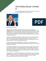 Rajoy resucita la deducción por vivienda y lía al sector