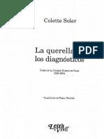 Soler Colette - La Querella De Los Diagnosticos.pdf
