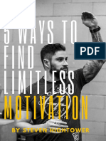 5 Ways to Find Limitless Motivation