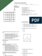 EXAMEN TIPO ICFES MATEMATICAS  2 periodo
