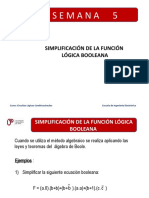 Semana_5_Simplificacion_de_la_funcion_Logica_Booleana.pptx