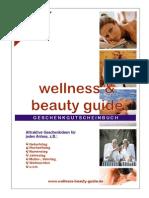 Wellness Beauty Geschenk Gutschein Buch