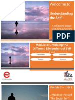 Different Dimensions of the Self