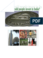 Why should people invest in India