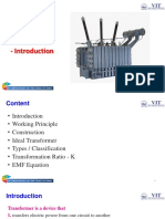 Mod 4 Transformer Intro
