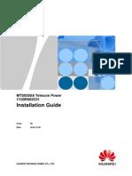 MTS9300A V100R002C01 Telecom Power Installation Guide