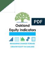 Oakland 2017 Race and Gender Disparities Study