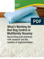 National Bedbug Report
