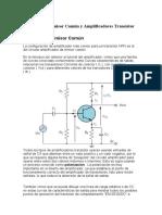 Transistor en emisor comun con señal.docx