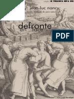 NANCY, Jean-Luc - Defronte (E-book)