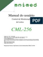 Manual Central de Monitorizaçao de Leitos CML-256