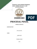 DERECHO PROCESAL PENAL EDUPCA