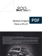 Proiect Peugeot Franceza