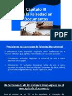 DIAPOSITIVAS FALSEDAD DOCUMENTAL