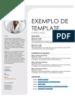 EXEMPLO DE TEMPLATE