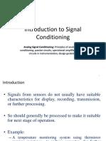 6 Analog Signal Conditioning