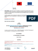 Law on Administrative Courts and Adjudication of Administrative Disputes 2017 07 19 EN