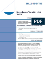 T60 Novedades Versión 1.0.8_BETA