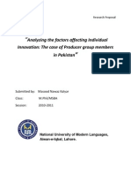 Research Proposal-  Masood Kalyar