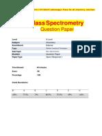 AS Mass Spectrum OR1
