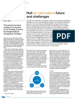 SSPA Hull air lubrication future and challenges
