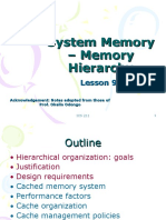 9a. System Memory-Memory Hierarchy