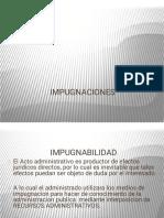 IMPUGNACIONES DERECHO PROCESAL ADMINISTRATIVO-1